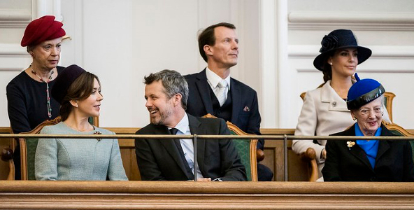 Danish Royal Family, Oct 3, 2017 | Royal Hats
