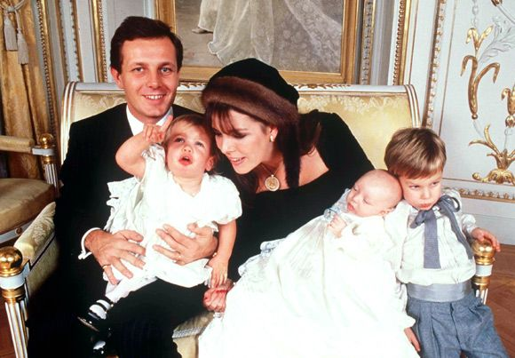1987-12-19 Pierre Casiraghi christening 2